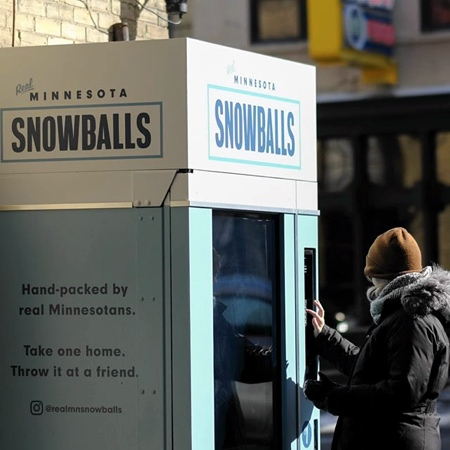 Snowballs Vending Machine