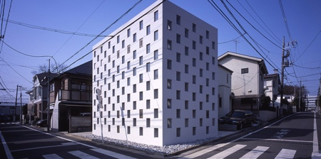 House Made of Stacked Boxes