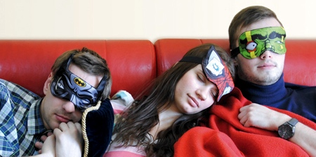 Superhero Eye Masks