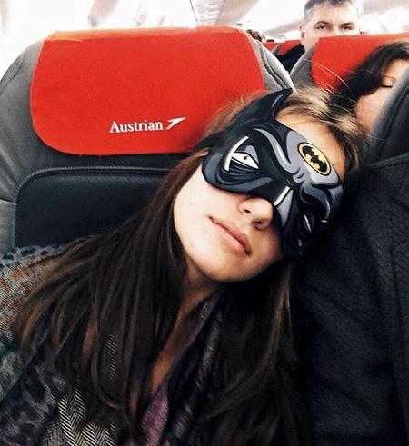 Superhero Sleep Mask