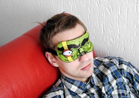 Superhero Sleeping Mask