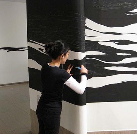 Artist Sun K Kwak