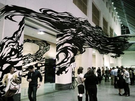 Sun K Kwak Tape Art