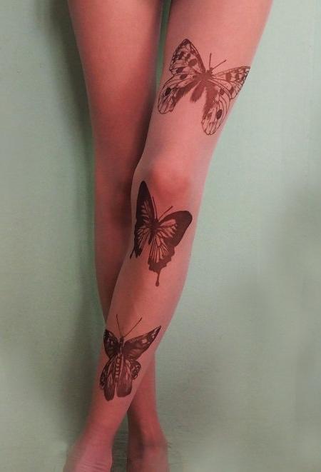 Silvana Ilieva Tattoo Tights