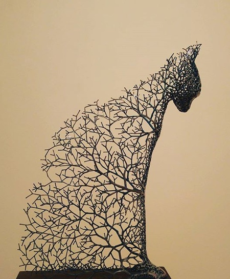 Wire Tree Animals