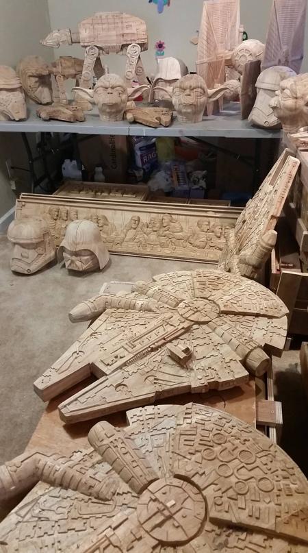 Wooden Star Wars Toys