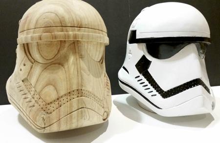 Wooden Stormtrooper