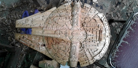 Wood Millennium Falcon