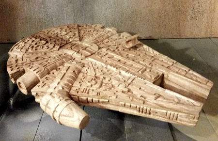 Wooden Star Wars Toy