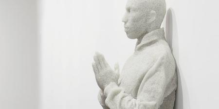 Broken Glass Sculptures