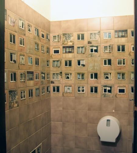 Creative Toilet Tiles