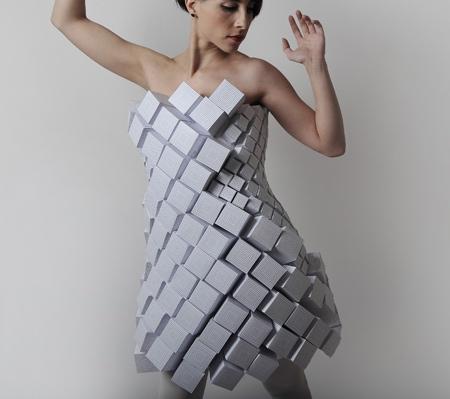 Amila Hrustic Origami Dresses