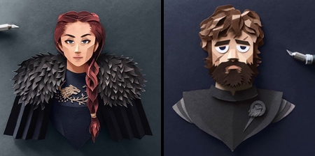Paper Game of Thrones