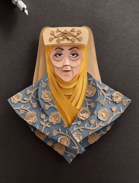 Game of Thrones Paper-cuts