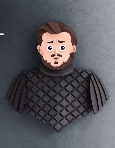 Robbin Gregorio Paper Game of Thrones