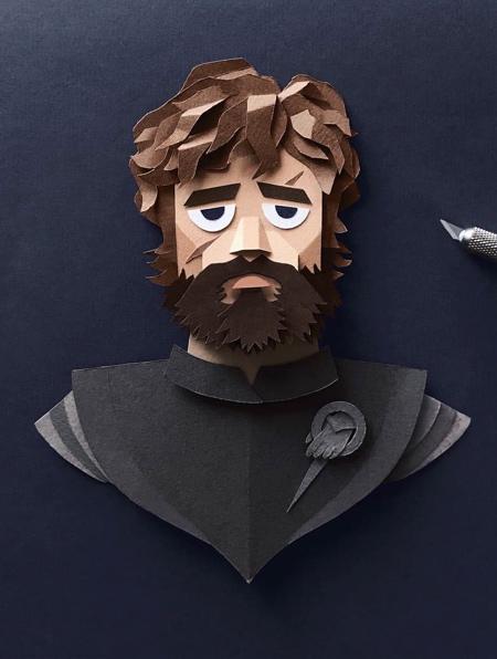 Game of Thrones Paper Art
