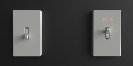 Light Switch Clock