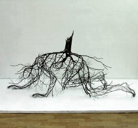 Human Root Sculptures