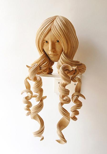 Yasuhiro Sakurai Wooden Heads