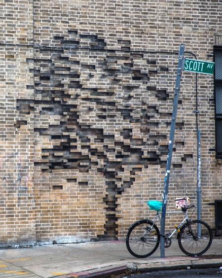 Brick Wall Tree
