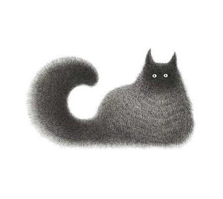 Kamwei Fong Cat Drawing