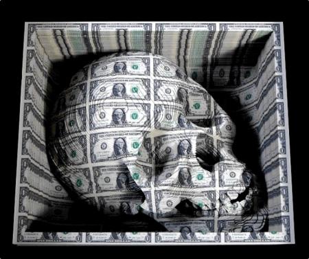 Scott Campbell Skull