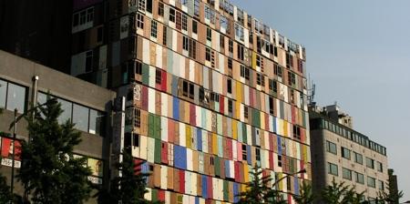 Building Made of Doors