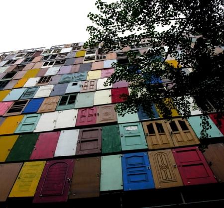 Choi Jeong Hwa Doors Building