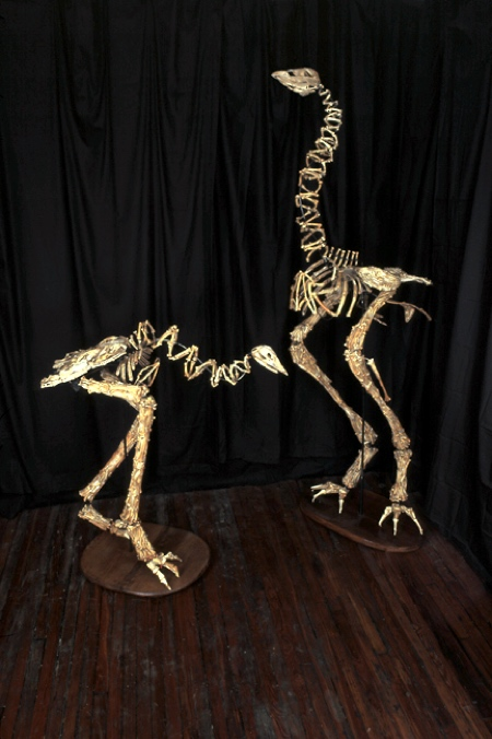 Extinct Bird Sculptures