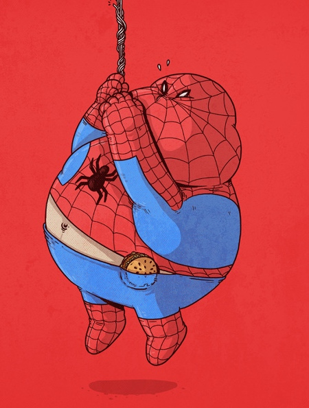 Overweight Superheroes
