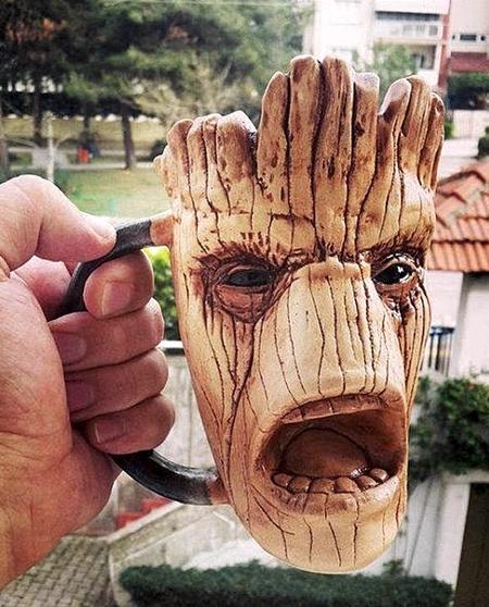 Groot Ceramic Mug
