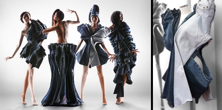 Dresses Made of Jeans