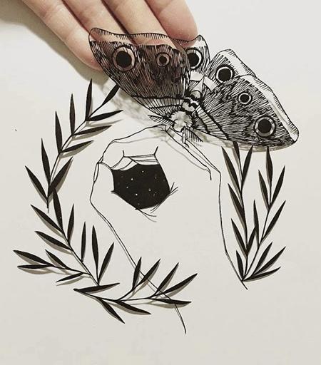 Kanako Abe 3D Paper Art