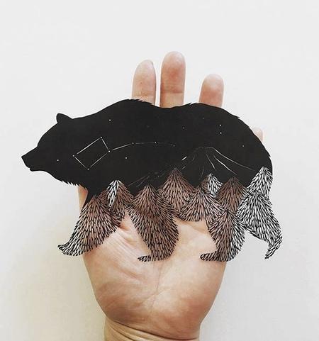 Kanako Abe Paper Art