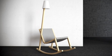 Lamp Rocking Chair