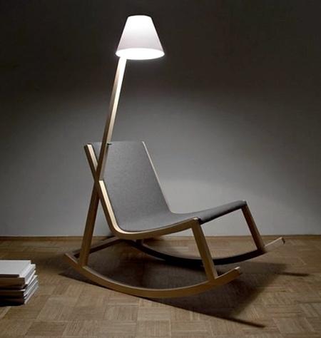 Light Rocking Chair