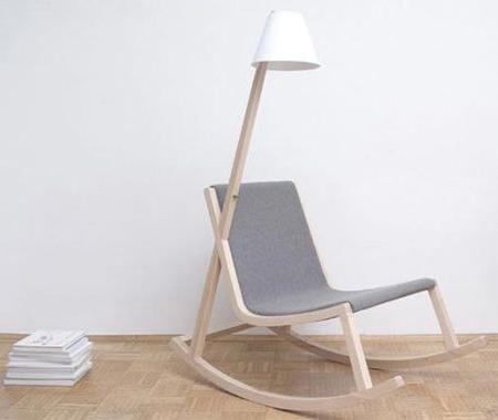 Rochus Jacob Rocking Chair