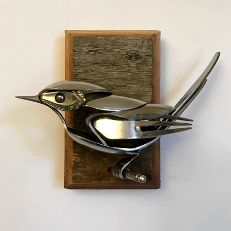 Fork and Spoon Bird