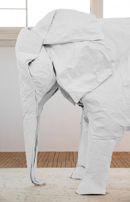 Elephant Made of Paper