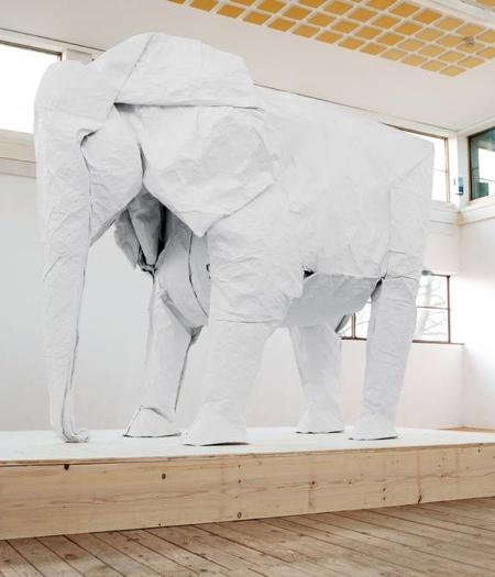 Giant Paper Elephant