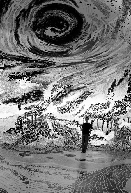 Artist Oscar Oiwa