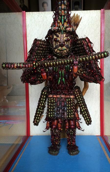 Samurai Armor Made of Bugs