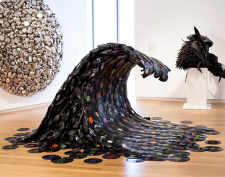 Vinyl Records Wave