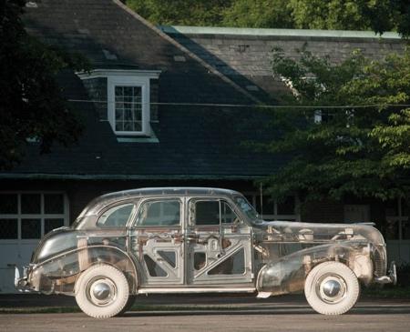 Plexiglass Pontiac
