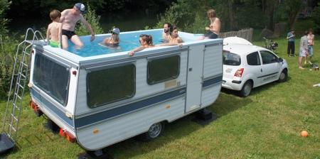 Caravan Swimming Pool