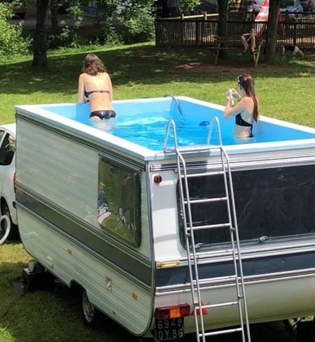 Camper Swimming Pool