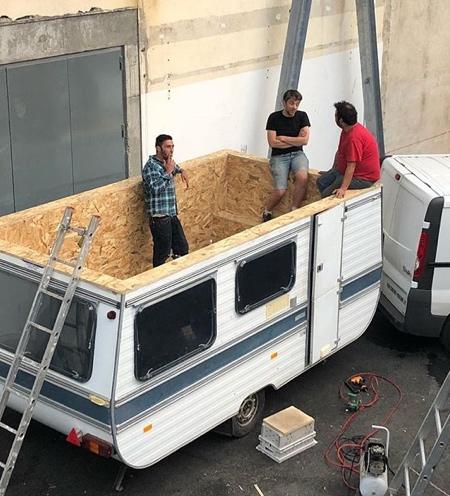 Benedetto Bufalino Caravan