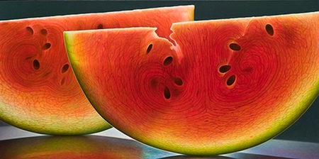 Realistic Fruit Paintings