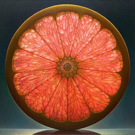 Hyperrealistic Fruit Paintings