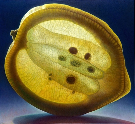 Realistic Fruit Painting